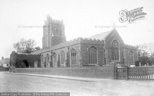 Photo of Aldeburgh, Parish Church Of St Peter And St Paul 1901