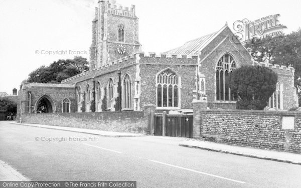 Photo of Aldeburgh, Parish Church Of St Peter And St Paul c.1965