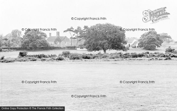 Photo of Aldeburgh, Red House From The Golf Course c.1960