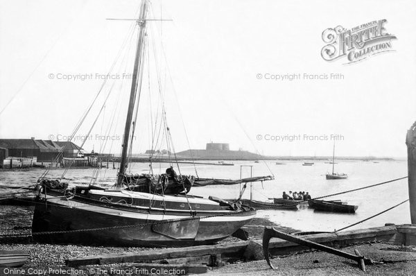 Photo of Aldeburgh, River Alde 1901
