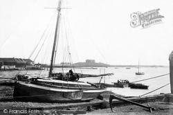 River Alde 1901, Aldeburgh