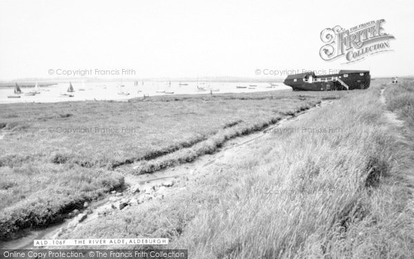 Photo of Aldeburgh, River Alde c.1960