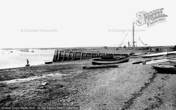 Aldeburgh, Slaughden Quay 1894