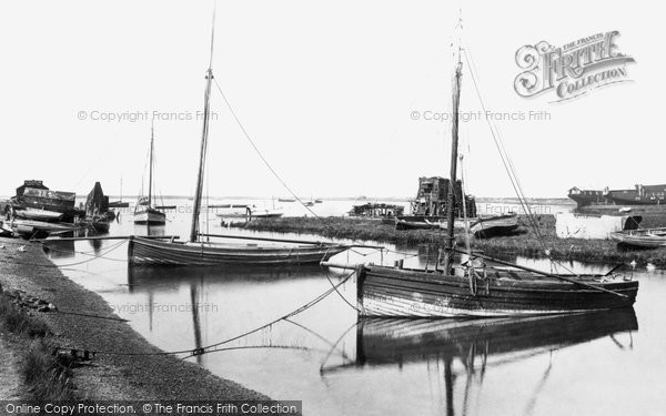 Photo of Aldeburgh, Slaughden Quay 1906