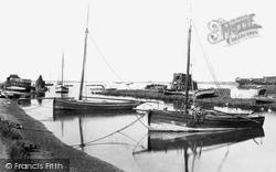 Slaughden Quay 1906, Aldeburgh