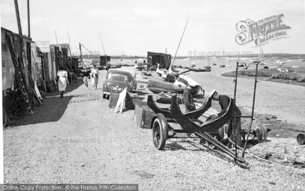Photo of Aldeburgh, Slaughden Quay c.1950