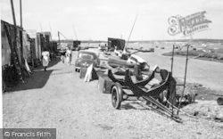 Aldeburgh, Slaughden Quay c.1950