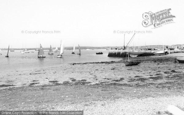 Photo of Aldeburgh, Slaughden Quay c.1960
