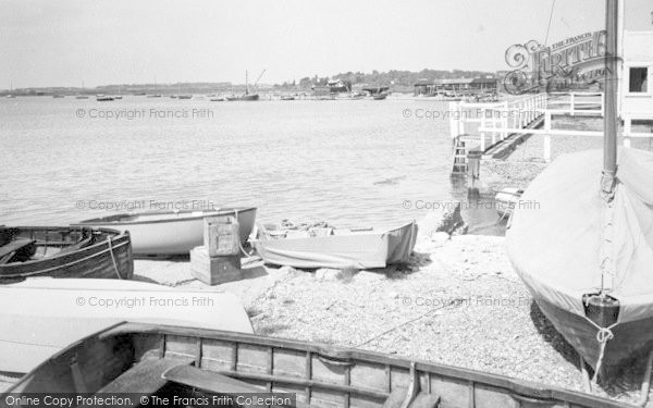 Photo of Aldeburgh, Slaughden Quay From Yacht Club c.1960