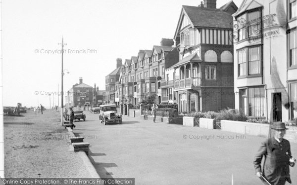 Photo of Aldeburgh, South End Of Seafront 1929