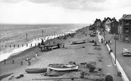 Aldeburgh, The Beach c.1960