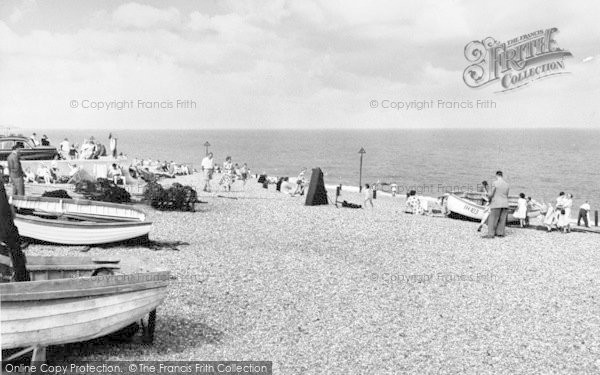 Photo of Aldeburgh, The Beach c.1960