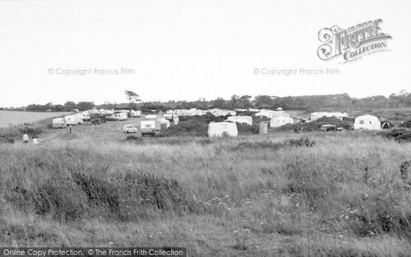 Photo of Aldeburgh, The Caravan Site c.1960