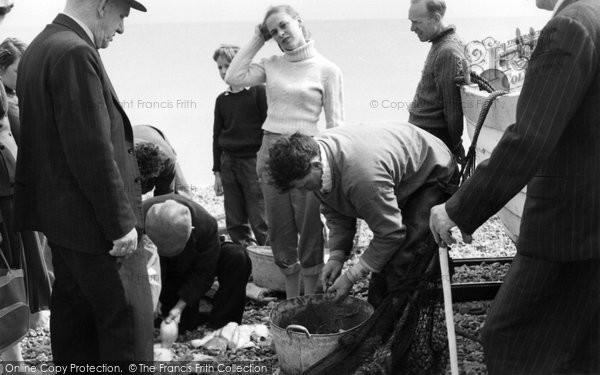 Photo of Aldeburgh, The Catch c.1960