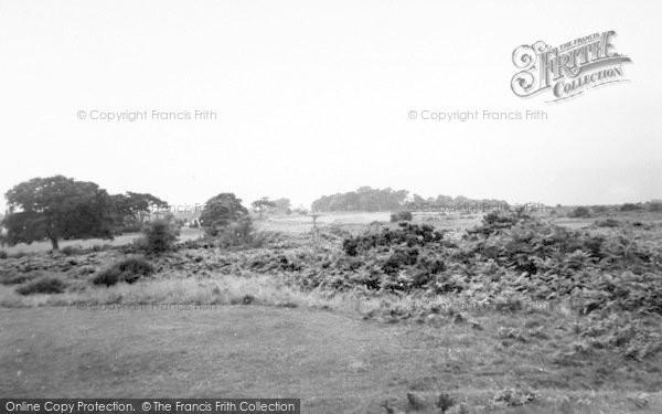 Photo of Aldeburgh, The Common c.1960