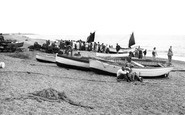 Aldeburgh, The Fishing Boats c.1955