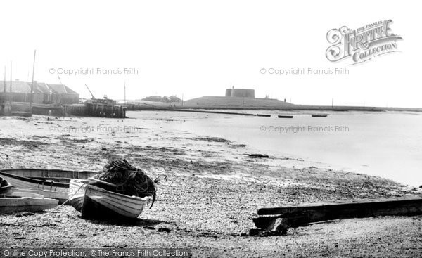 Photo of Aldeburgh, The Fort 1894