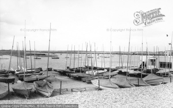 Photo of Aldeburgh, The Harbour c.1965