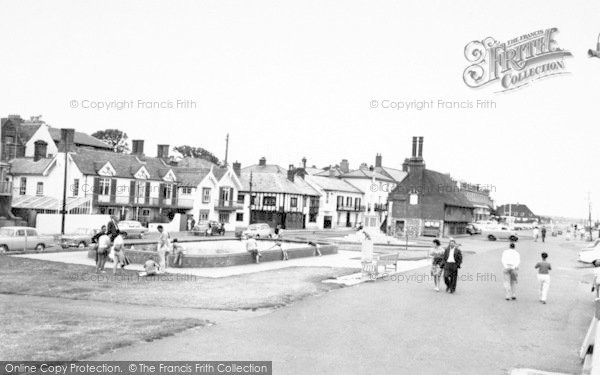 Photo of Aldeburgh, The Kiddies Pool And Promenade c.1965