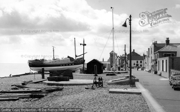 Photo of Aldeburgh, The Lifeboat And Crag Path c.1965