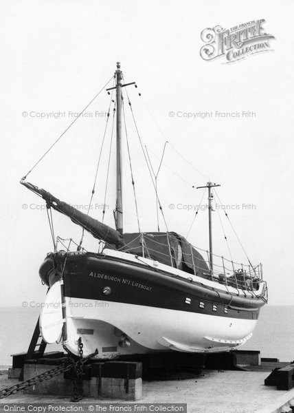 Photo of Aldeburgh, The Lifeboat c.1955