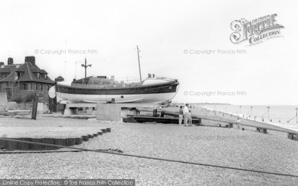 Photo of Aldeburgh, The Lifeboat c.1965