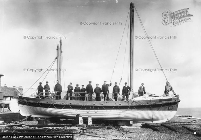 Aldeburgh, The Lifeboat 'city Of Winchester' 1903