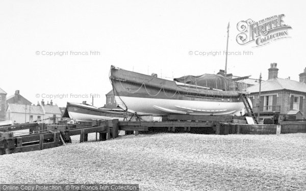 Photo of Aldeburgh, The Lifeboats c.1955