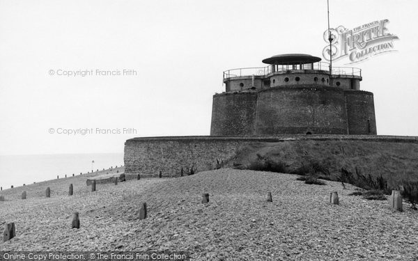 Photo of Aldeburgh, The Martello Tower c.1950