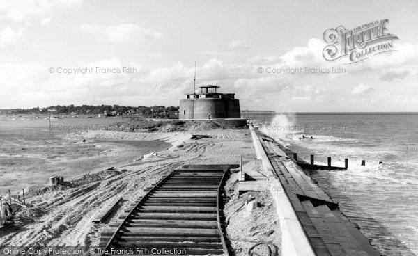 Aldeburgh, the Martello Tower c1960