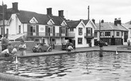 Aldeburgh, the Model Boat Pond c1955