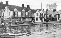 Aldeburgh, The Model Boat Pond c.1955