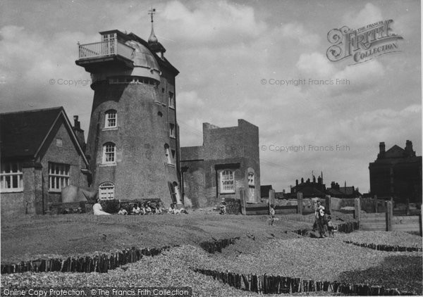 Photo of Aldeburgh, The Old Mill 1952