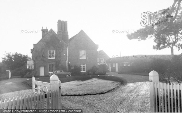 Photo of Aldeburgh, The Red House c.1960