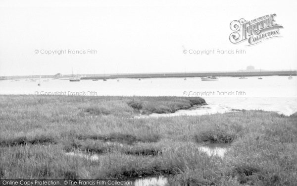 Photo of Aldeburgh, The River Alde c.1960