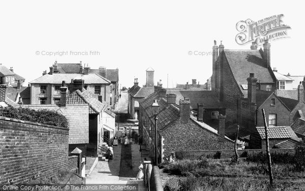 Photo of Aldeburgh, The Steps 1906