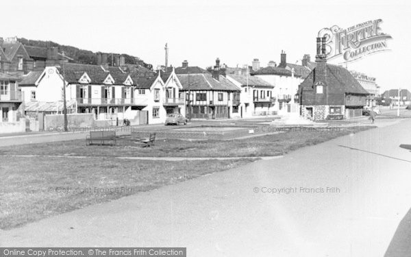 Photo of Aldeburgh, The Village c.1955