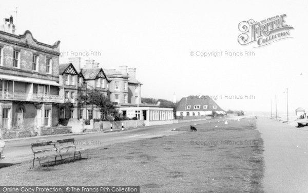 Photo of Aldeburgh, The Wentworth Hotel c.1965