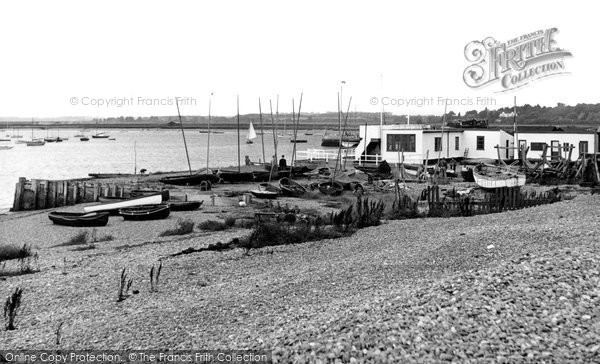 Photo of Aldeburgh, The Yacht Club c.1955