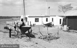 Aldeburgh, The Yachting Club c.1950