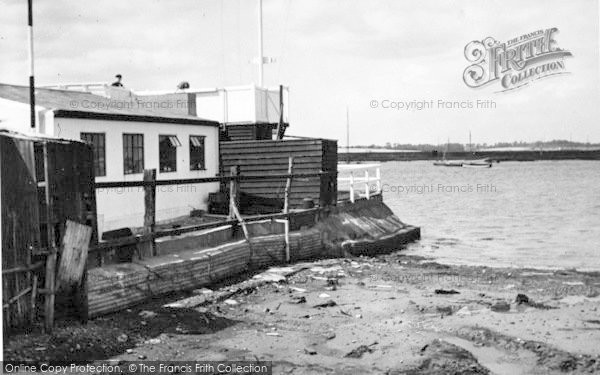Photo of Aldeburgh, The Yachting Club c.1950