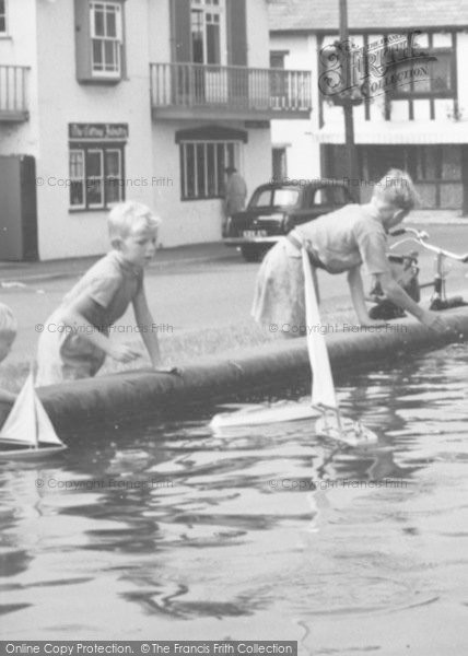 Photo of Aldeburgh, Toy Boat Play c.1960