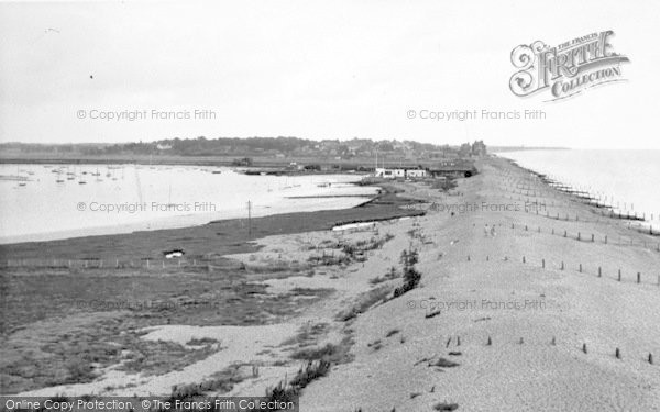 Photo of Aldeburgh, View From Martello Tower c.1955