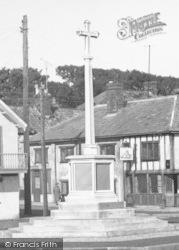 Aldeburgh, War Memorial c.1955