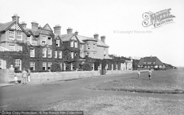 Photo of Aldeburgh, Wentworth Hotel 1929