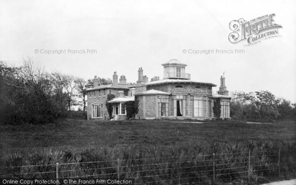 Photo of Aldeburgh, Wentworth Lodge 1901