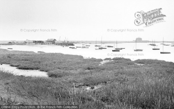 Photo of Aldeburgh, Yacht Club And Martello Tower c.1960