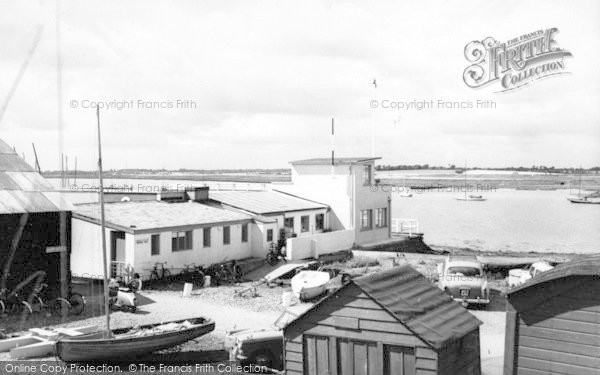 Photo of Aldeburgh, Yacht Club c.1965