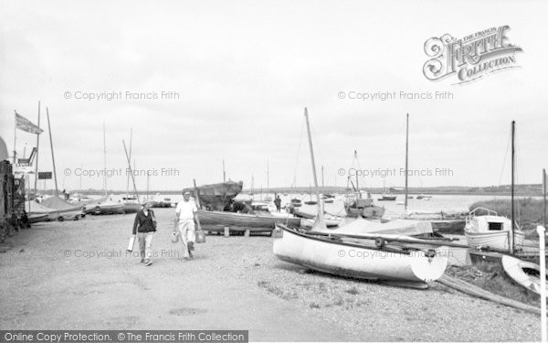 Photo of Aldeburgh, Yachting Harbour c.1965