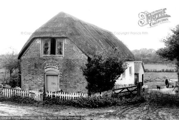 Photo of Alderholt, Cripplestyle, The Old Chapel c.1960